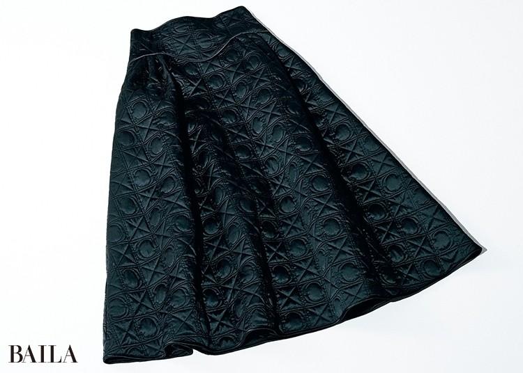 キルティング生地 のスカートがIN