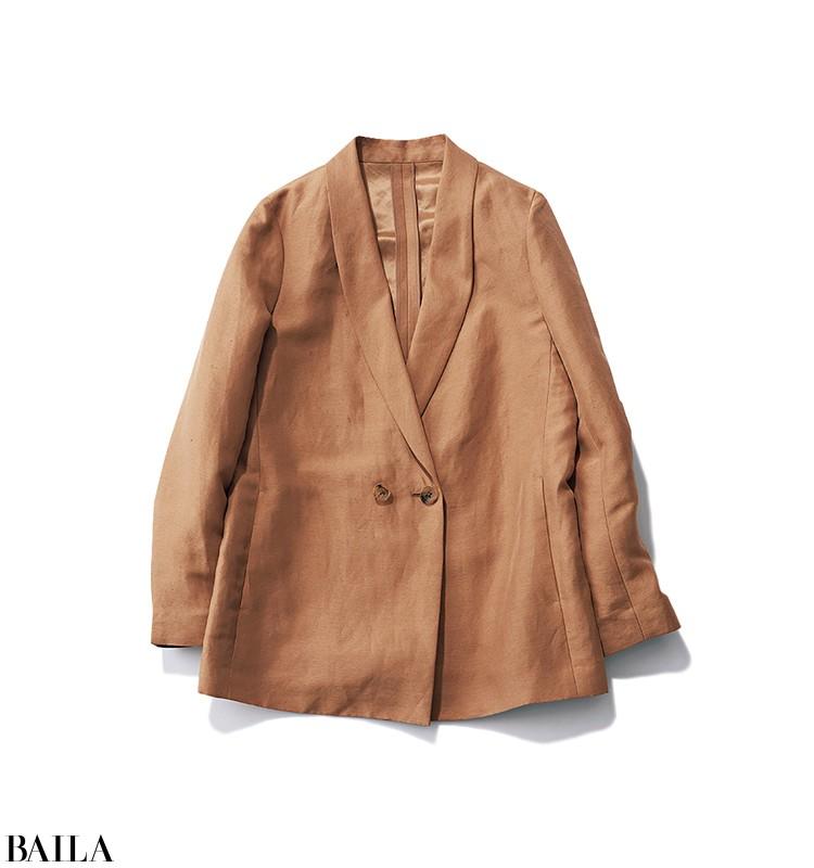 仕事のある日曜日は、キレイめジャケットの春色スタイル【2020/3/15のコーデ】_2_1