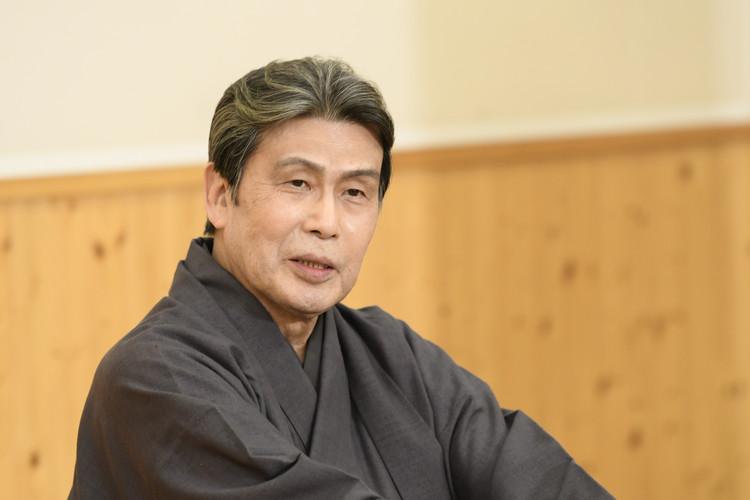 四月大歌舞伎の合同取材会の松本白鸚さん