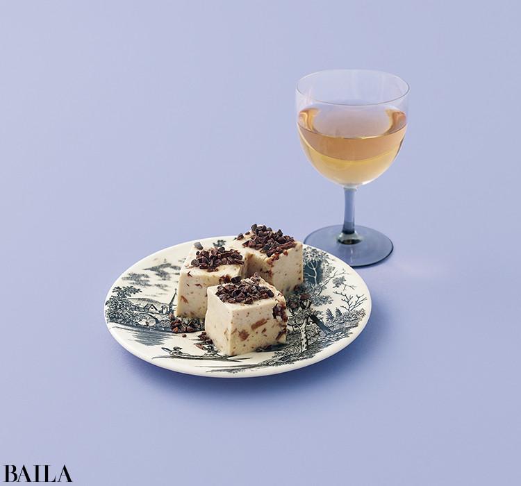 チーズとワインの余韻にうっとり♡【コガネイチーズケーキの大人の赤ワインチーズケーキ】