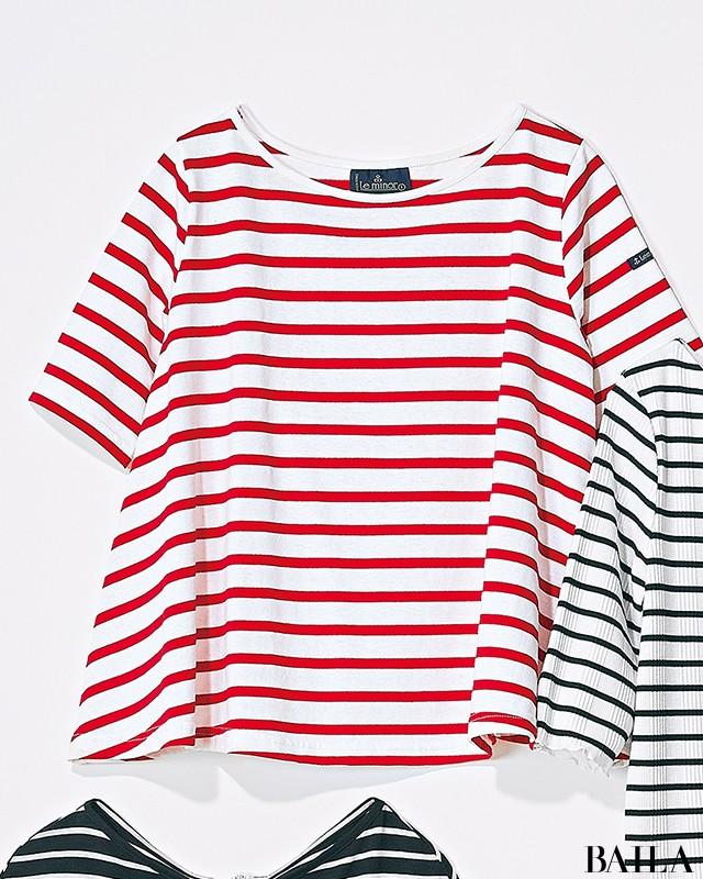 【甘め派・Tシャツ7選】フレンチシックTシャツで可愛げ+知的な印象をゲット!_7