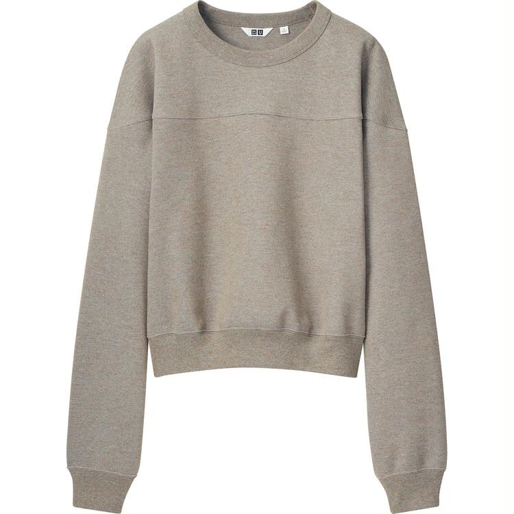スウェットクルーネックシャツ(長袖)¥2,990