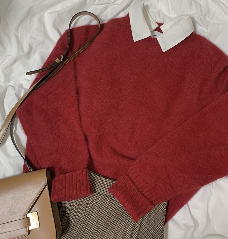 最愛knit♡秋冬ニットはこう着たい、4コーデ。_4