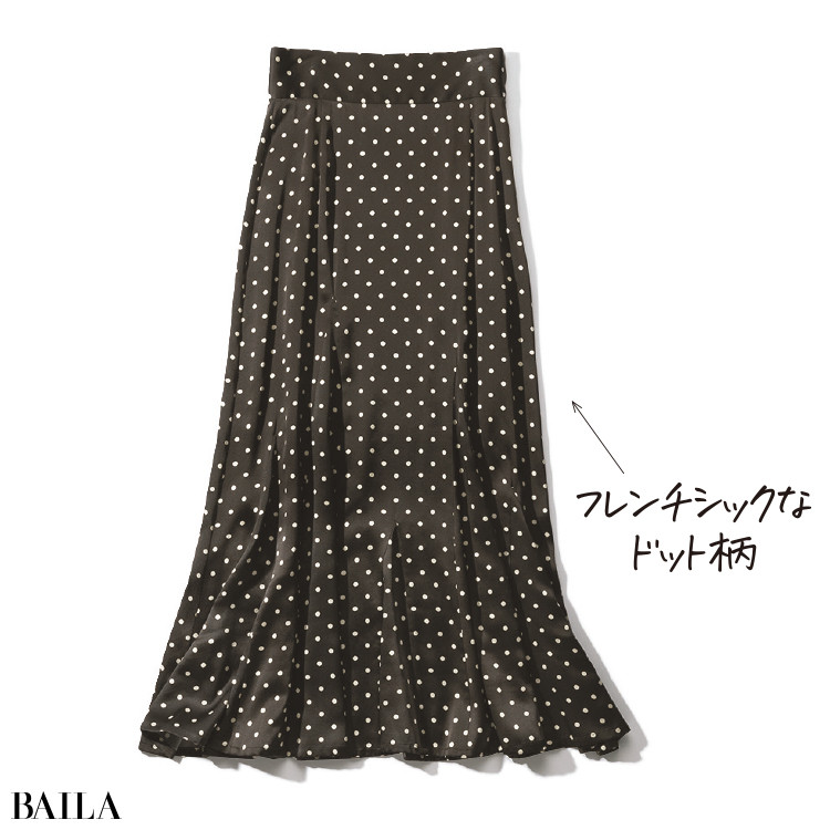水玉スカート¥68200/サードマガジン