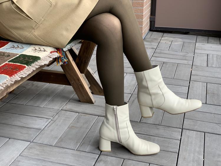 BAILA付録のブラウンタイツと手持ちの靴を合わせてみた!_2