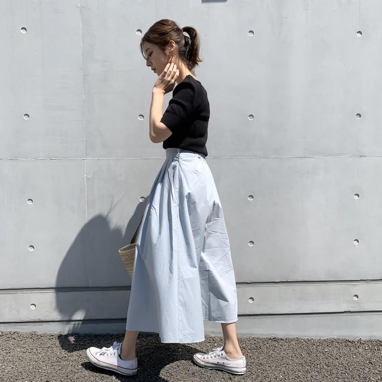 春夏にオススメ!!スカイブルーのスカート♡_2