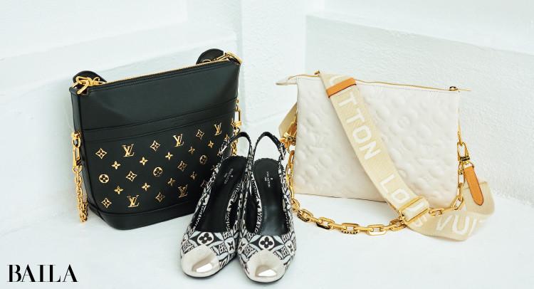 ルイ・ヴィトンの靴とバッグ