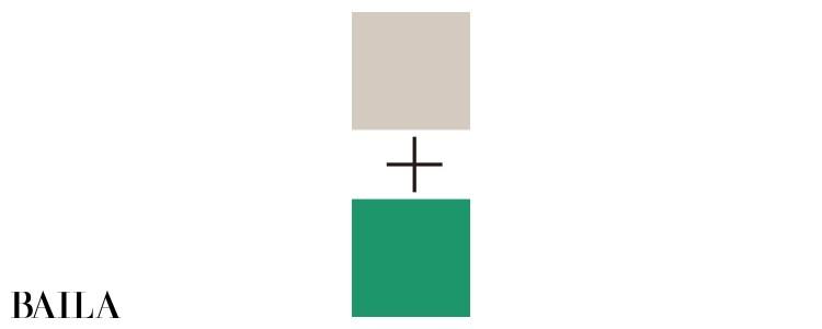 ブルベ・男顔に似合うのはグレーベージュ+ブライトグリーン