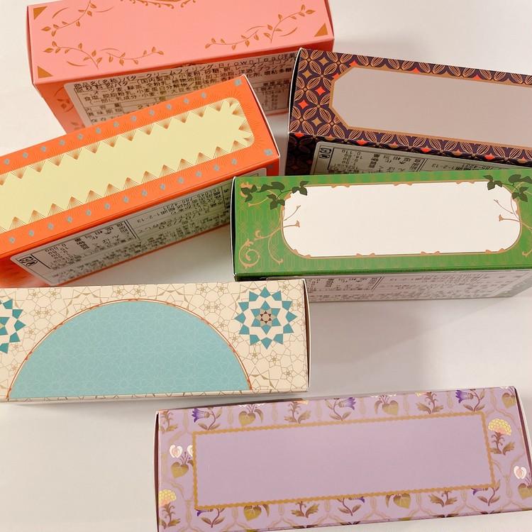 「Huffnagel(フフナーゲル)」「オーツクッキー バタークリーム フィリングセレクション」のパッケージ横面
