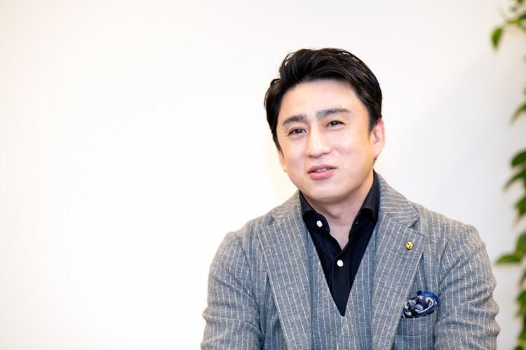 図夢歌舞伎「弥次喜多」につぃて語る松本幸四郎