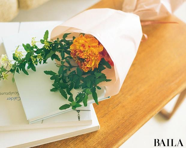 ときめいたお花3種類で作る、春の小さなブーケ【カトパンのあえて小さく飾る花レッスン】_2