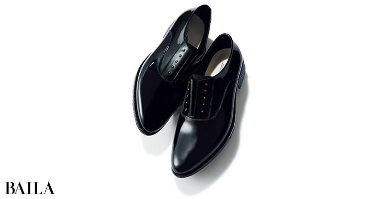 テンパレイトのレインマニッシュ靴