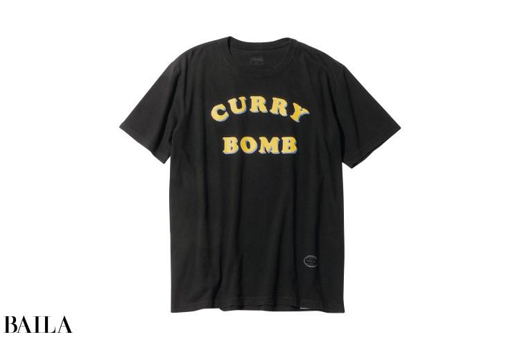 Tシャツ(黒)¥7000/タンタンデザイン(タンタン)