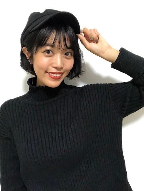 <簡単イメチェン>タートルネックとの相性◎ショート♡と、オススメヘア用品を紹介!_4_2