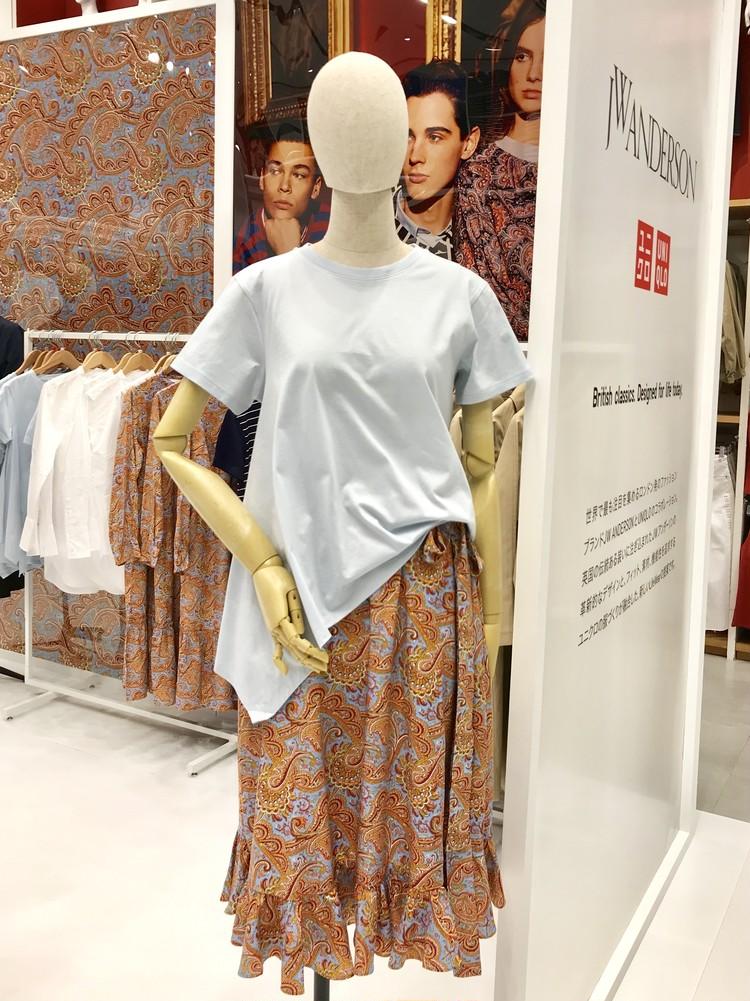 【ユニクロ & JWアンダーソン】2019春夏人気アイテム(アシンメトリーTシャツ)