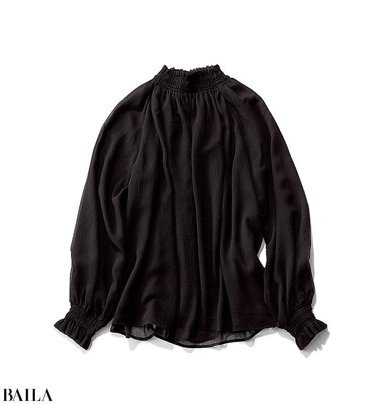 歌舞伎を見に行く日は、雅なパープルカーデの上品スカートスタイル【2019/12/5のコーデ】_2_1