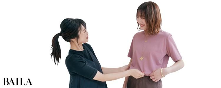 パステルカラーTシャツなら今年らしさも自分らしさも!