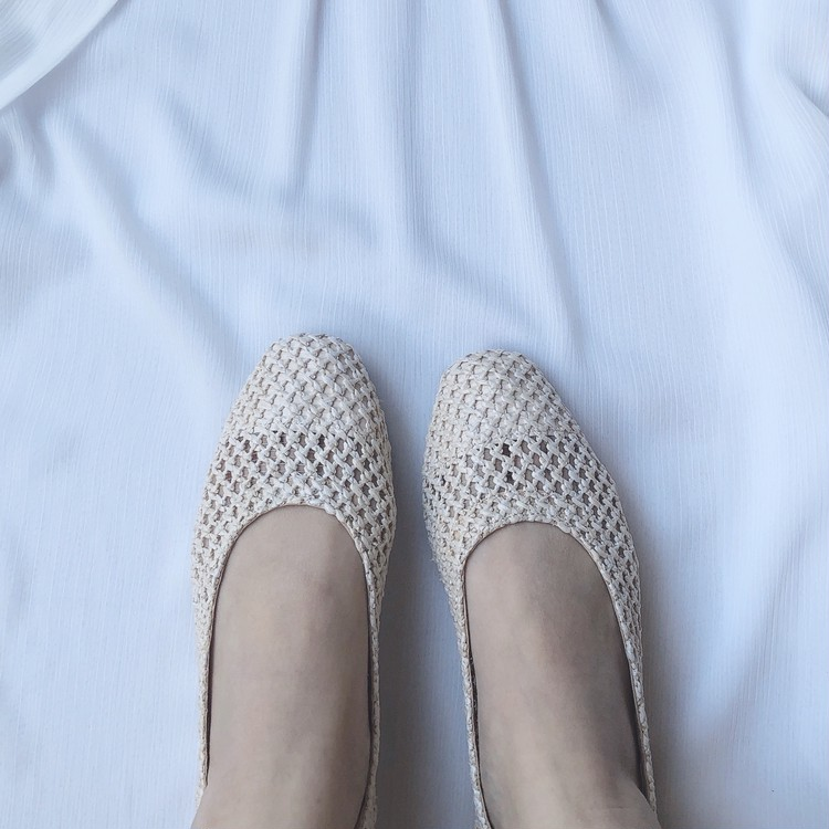 【GU春靴】履き心地最高!今季注目素材のバレエシューズ_2