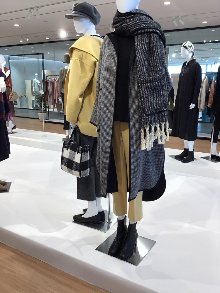 【PLST(プラステ)】2021秋冬新作展示会リバーシブルコート