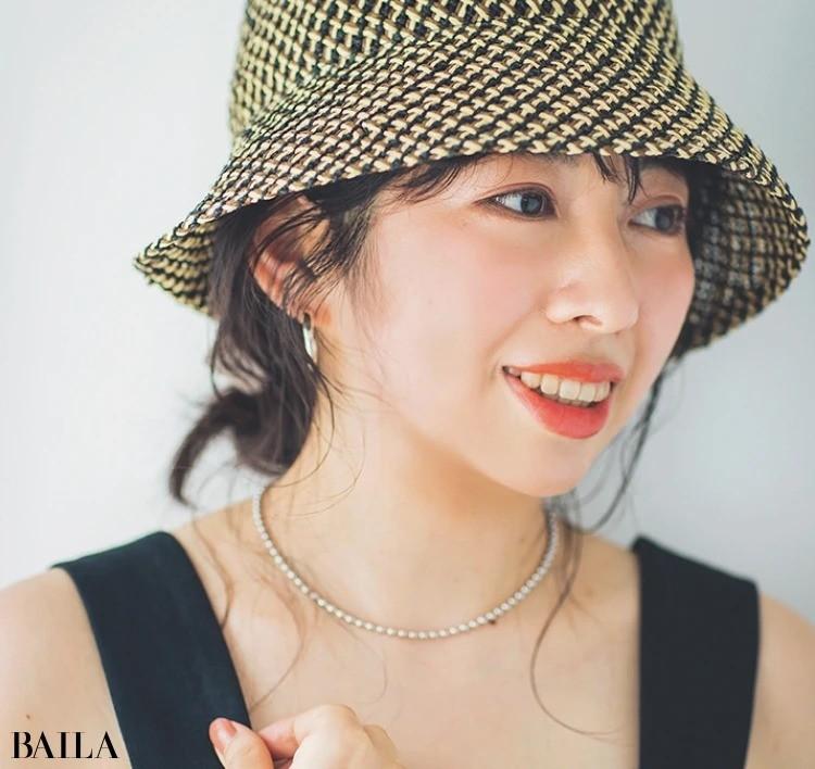 夏にぴったりな帽子