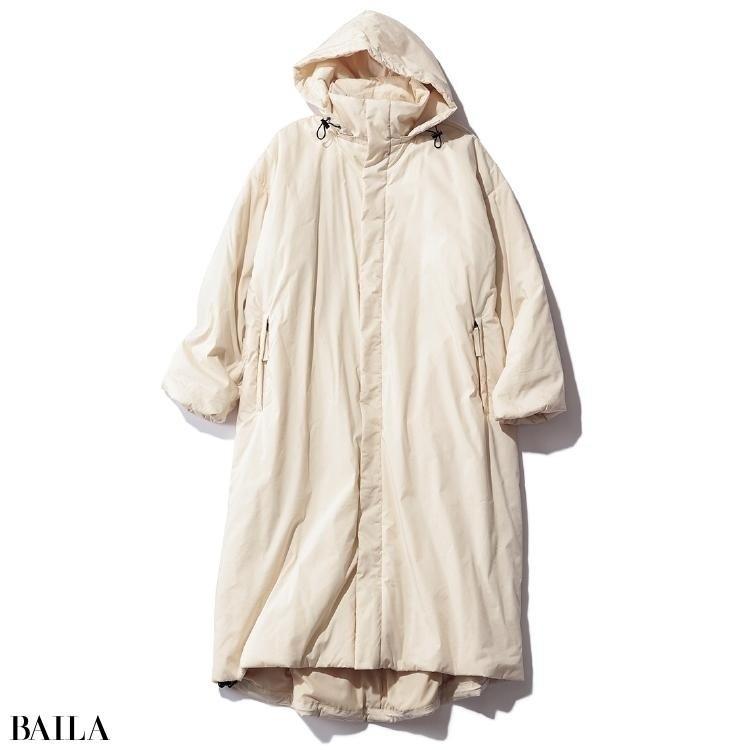 ノーク バイ ザ ラインの中綿コート