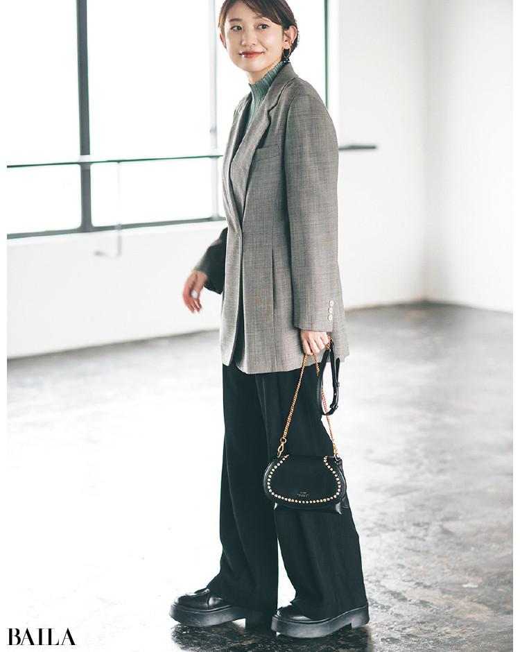 【30代スタイリストが私服でアンサーまとめ】リアルだから役に立つ。その冬服はもっと素敵に着られる!_16