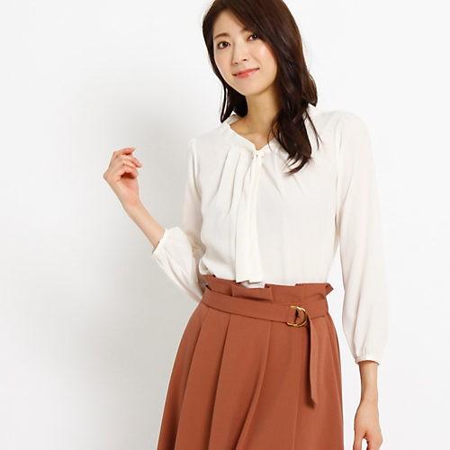 腰高フレアスカートで、きちんとジャケットを華やか&女っぽく!_6