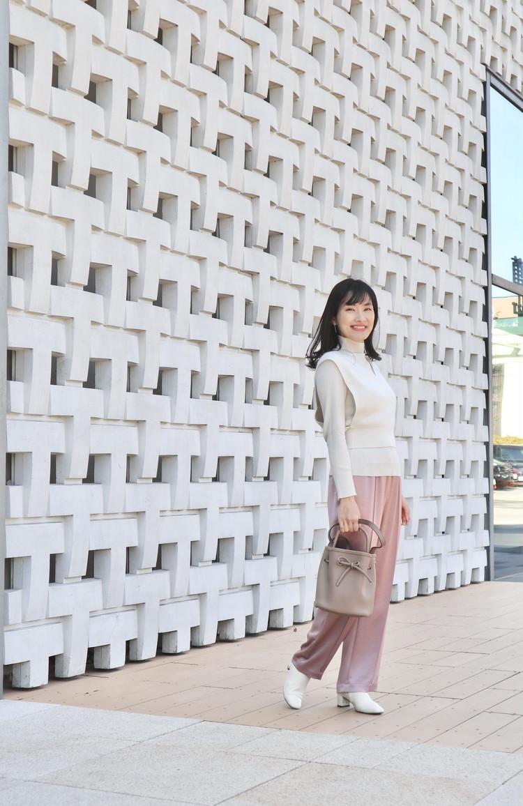 【冬→春】celfordつる太パンツで春コーデ_2