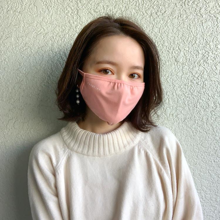 洗える_おしゃれな布マスク