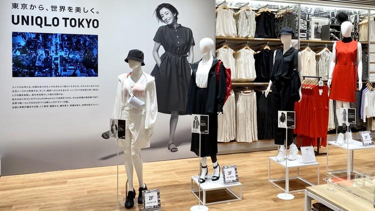 ユニクロセオリーコラボワンピース ユニクロ トウキョウ(UNIQLO TOKYO)店内画像4 ウィメンズ 宮沢りえ
