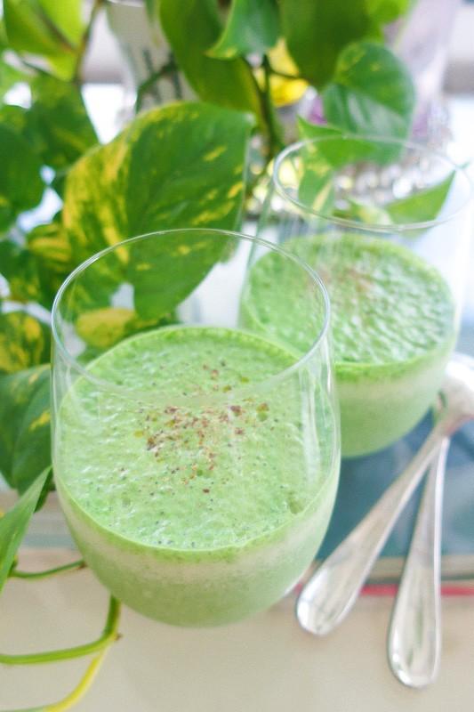 【高たんぱくな「缶詰」レシピ2】ツナとほうれん草の冷製ポタージュスープ