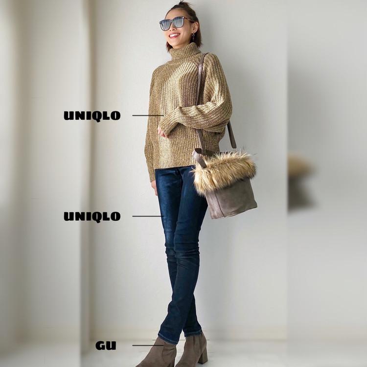 UNIQLOセール品のニットがかわいい!ポイントはサイズ!_6