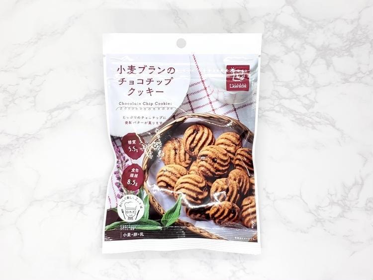 小麦ブランのチョコチップクッキーの外観