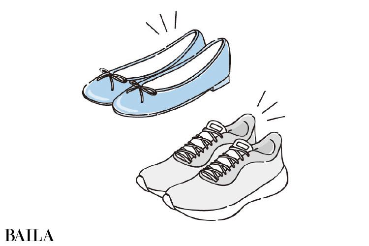 お気に入りの靴を大切に履く