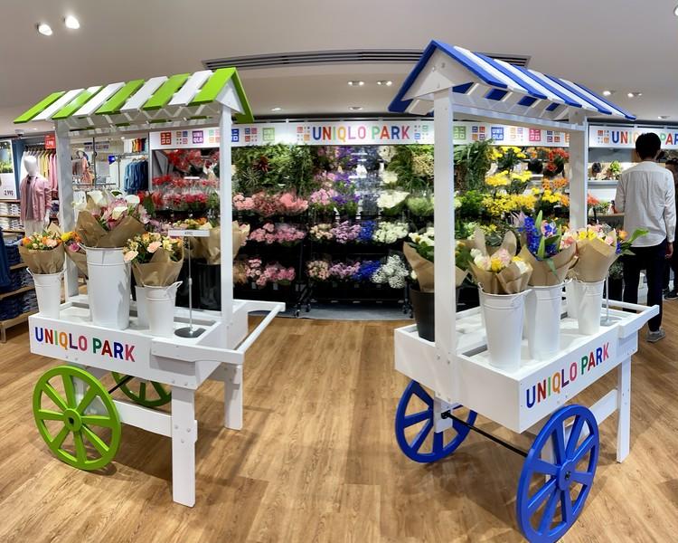 【エディターのおうち私物#36】1束¥390「ユニクロ(UNIQLO)」新オープンの原宿店やUNIQLO PARKで花やグリーンの販売をスタート!_11