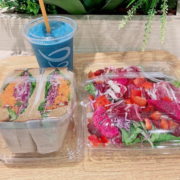 ・日本限定「ソライロ・コージー」 ・日本初「サンドイッチ」 ・日本初「ワントーンサラダ」