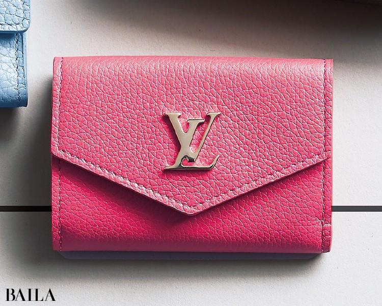 ルイ・ヴィトンの財布「ポルトフォイユ・ロックミニ」