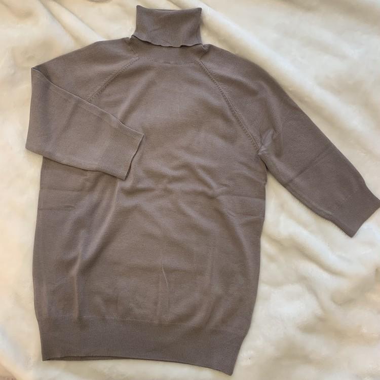 【ZARA】ベーシックなハイネックセーターを2色買い_3