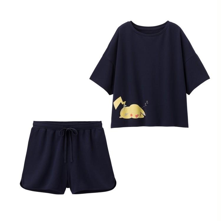 【写真】GU×ポケモンのパジャマ・Tシャツでお家時間を楽しく_4