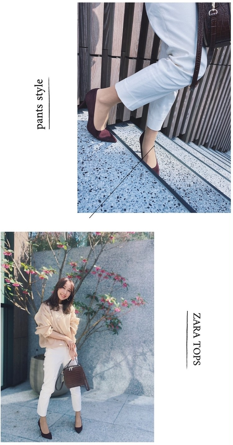 【ZARA】シアー素材のトップスで「春」を先取りコーデ!_3
