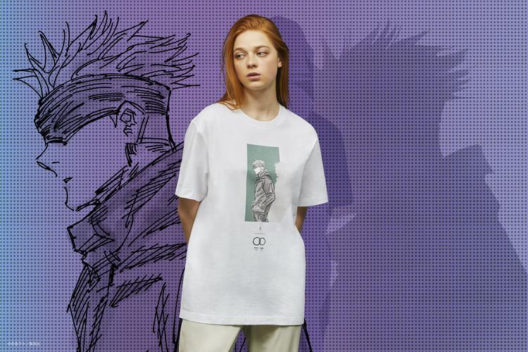 五条先生シャツの着用イメージ