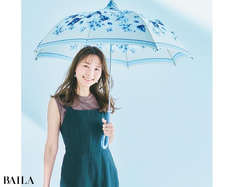 神谷江礼奈さん MOLLY MARAISの日傘
