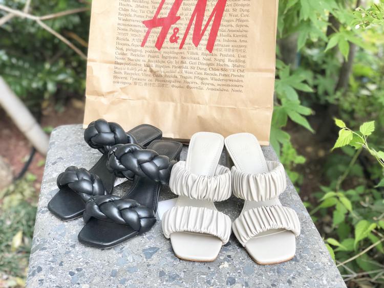 【H&M】小物が高見え!話題の編み込みサンダル_1
