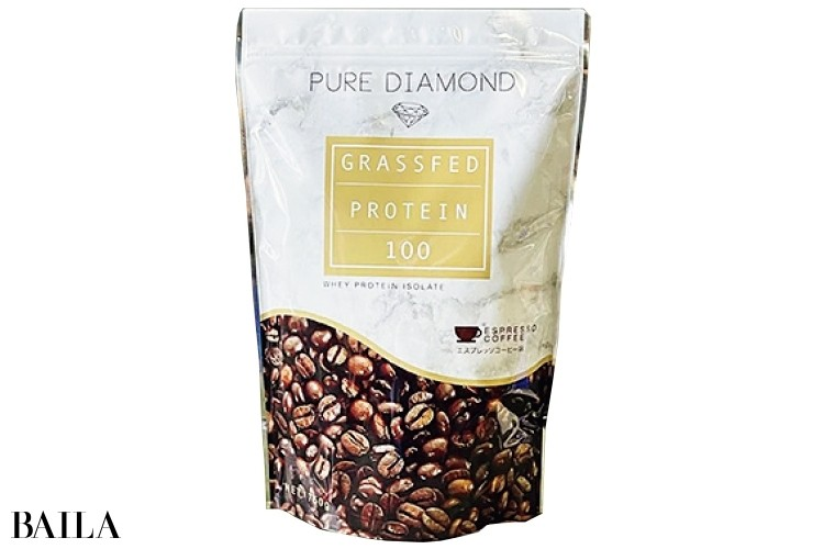 クオリティファースト PURE DIAMOND グラスフェッドホエイプロテイン エスプレッソコーヒー味