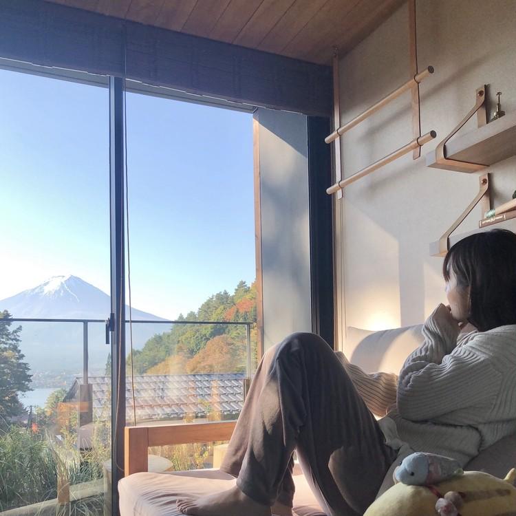 【GoTo】部屋から富士山♡森の中の隠れ家ホテルで贅沢stay_20