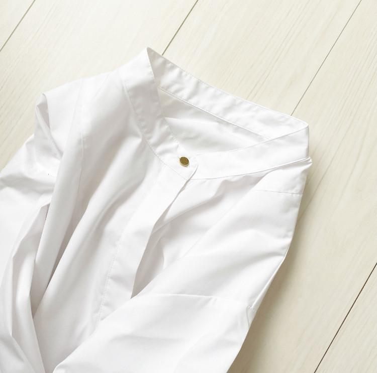 これは優秀♡プチプラで見つけたバンドカラーシャツ_1