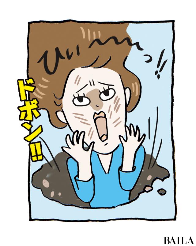 送風で老け顔が加速?! ハマるなキケン!【扇風機乾燥地獄穴】 大人の夏スキンケア_1_4