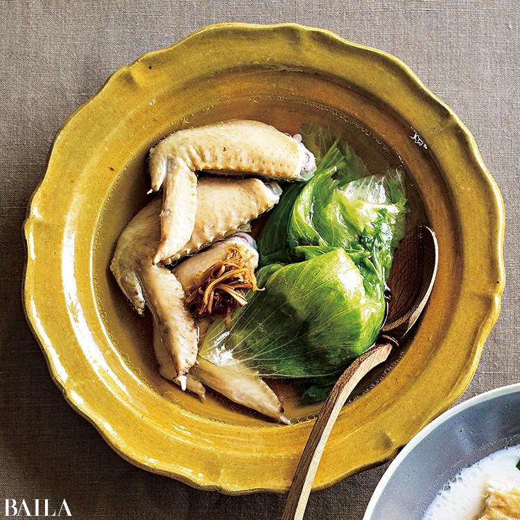 手羽先のスープレタス