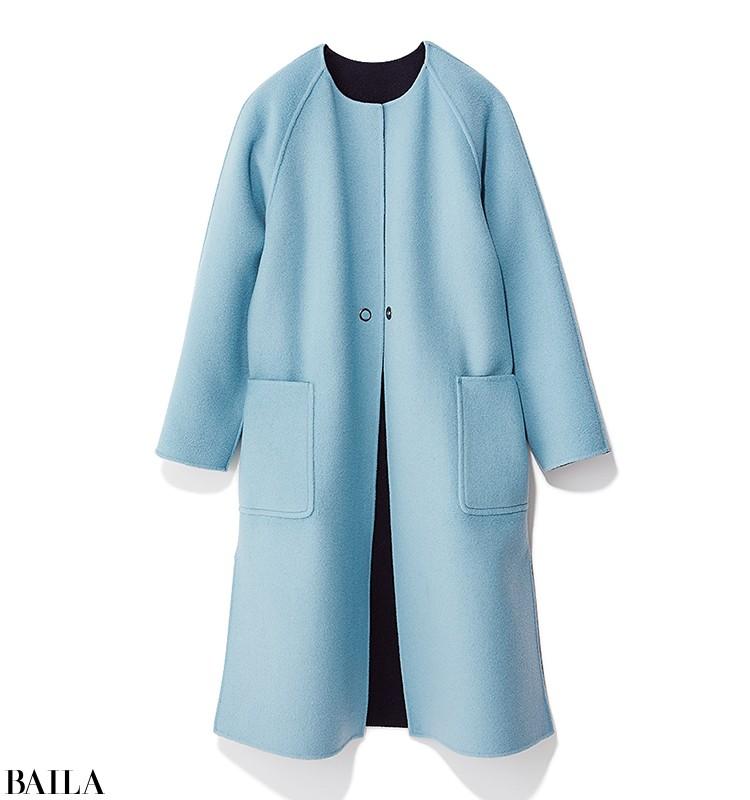 初対面の日に会う日は、優しげニット&女っぽいコートの好感度スタイル!【2019/10/24のコーデ】_2_1