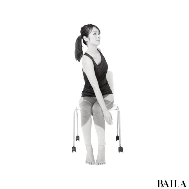 オフィスでできる!3筋肉を鍛えて姿勢美人【姿勢で-2kgヤセ見え⑨】_1_4